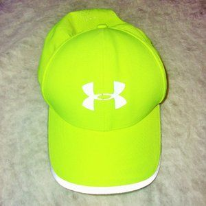Under Armour Neon Green Cap LIKE NEW